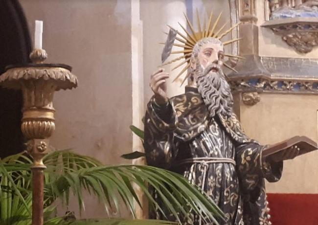 La parroquia de Artà restaura la escultura del beato Ramon Llull