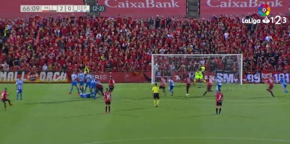 El Mallorca a primera con un gran partido ante el Deportivo