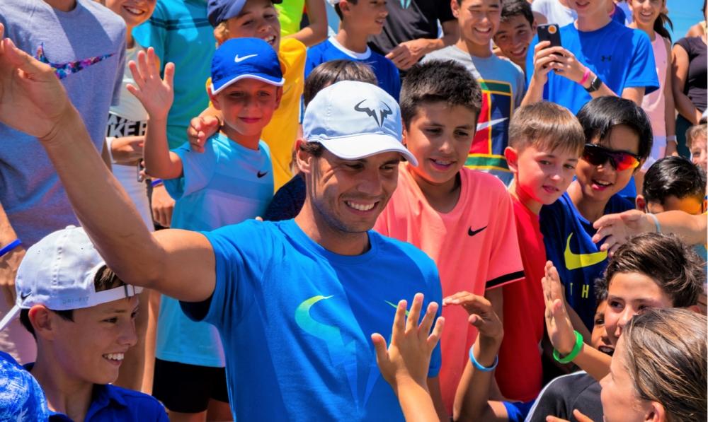 La Rafa Nadal Academy by Movistar se convierte este verano en el epicentro del tenis infantil y juvenil