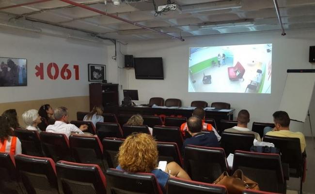 Más de noventa profesionales de la atención primaria y del 061 reciben formación sobre la detección de la conducta suicida