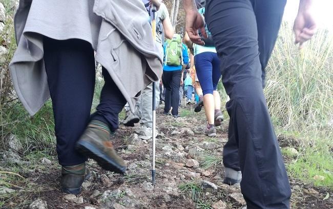 La Marcha des Güell a Lluc a pie se adapta a la Ley de residuos