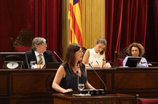 Armengol pide la investidura para completar la modernización de las Illes Balears