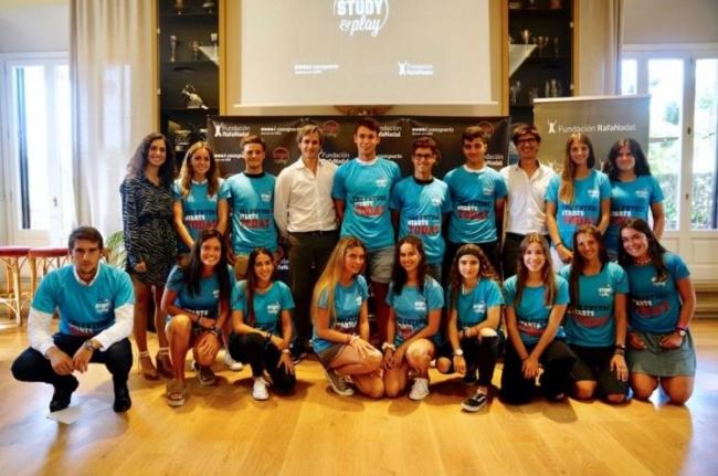 La Fundación Rafa Nadal apuesta por la promoción del talento con la concesión de becas