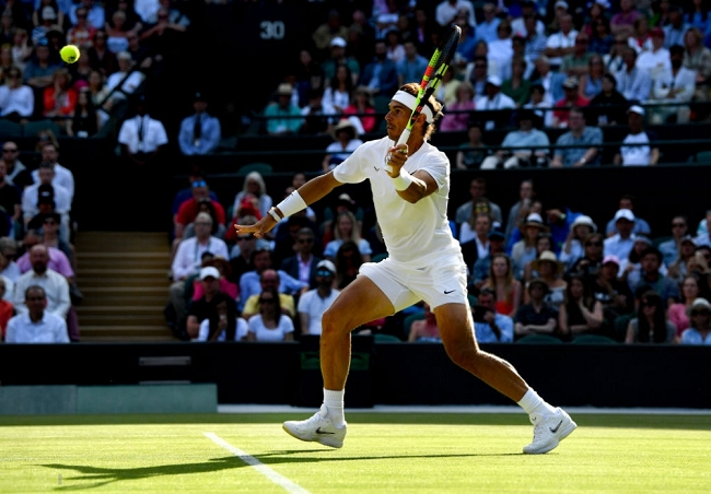 Rafa Nadal debuta con victoria ante Sugita en Wimbledon