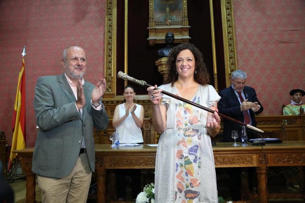 Catalina Cladera es investida presidenta del Consell de Mallorca