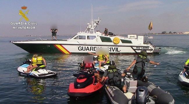 La Guardia Civil pone en marcha la campaña de control de embarcaciones deportivas y de recreo