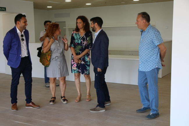 La presidenta del Consell visita la Residència de la Bonanova i la seu de l'IMAS