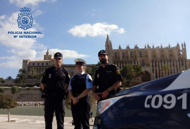 Las Illes Balears reciben a 104 nuevos policías nacionales en prácticas