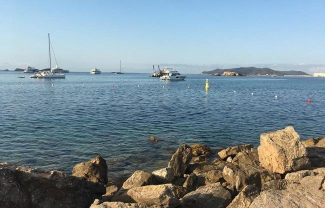 El Ayuntamiento de Eivissa habilita, por segundo año, el canal de nado en la zona de Puig des Molins