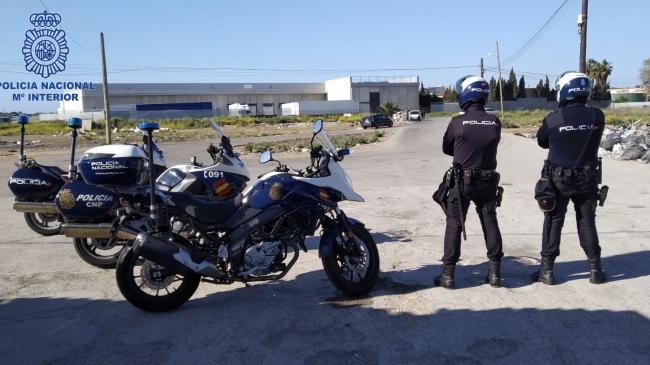 La Policía Nacional prosigue con los controles y vigilancias en la Playa de Palma
