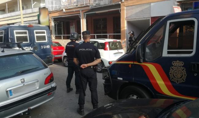 La Policía Nacional detiene a un hombre por agredir a una pareja y provocar lesiones graves a la mujer