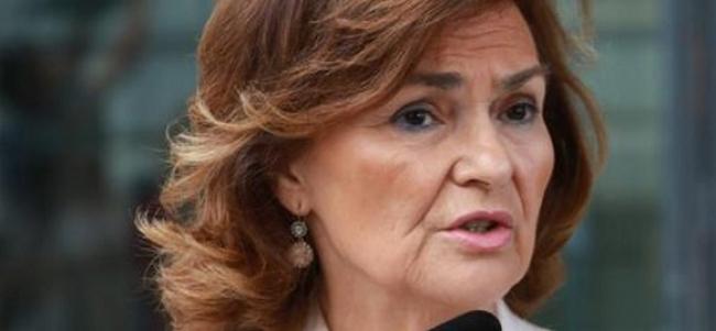 La vicepresidenta del Gobierno de España y secretaria de Igualdad del PSOE, Carmen Calvo, visitará Mallorca este domingo