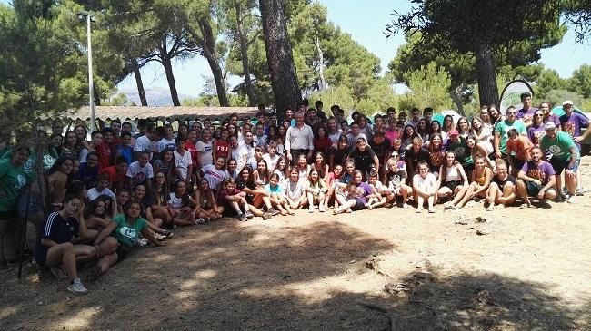 640 participantes en los primeros campamentos de verano de La Victoria organizados por el Consell