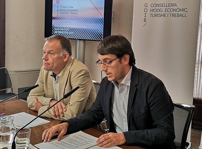 Las Islas Baleares registran un máximo histórico de ocupación con 578.700 personas trabajando