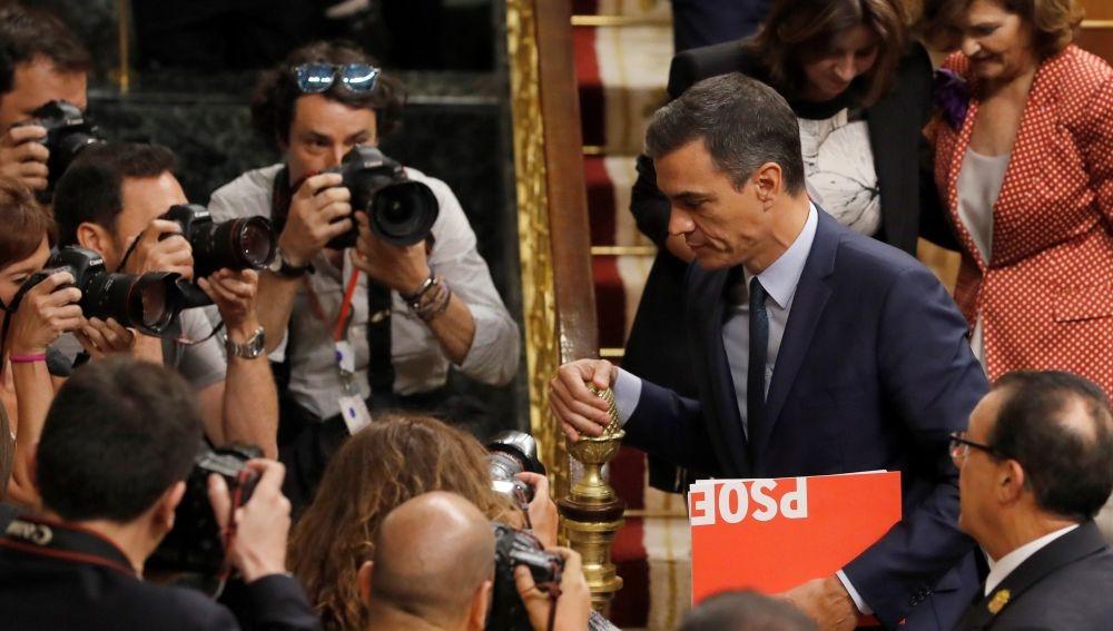 Pedro Sánchez fracasa en su investidura