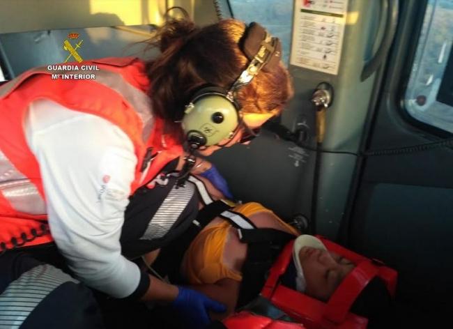 La Guardia Civil realiza dos nuevos rescates en la montaña
