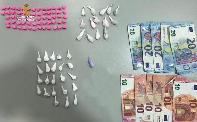 La Guardia Civil desarrolla varios operativos contra la venta de estupefacientes en la zonas de ocio nocturno de Magaluf