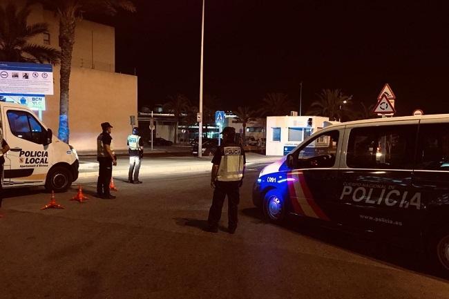 La Policía Nacional y la Policía Local de Ibiza realizan un dispositivo conjunto