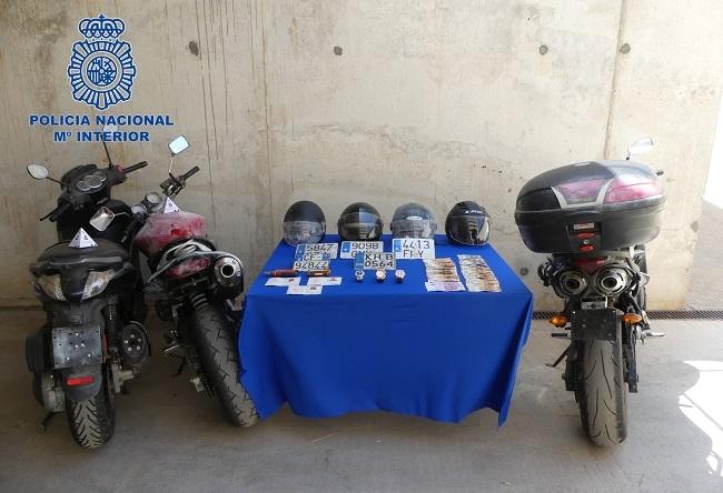 La Policía Nacional detiene a tres personas por un delito de robo con violencia
