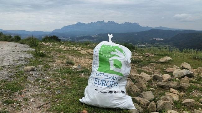 Crece un 31,5 % la cantidad de residuos recogidos en la edición de este año de Let's Clean Up Europe