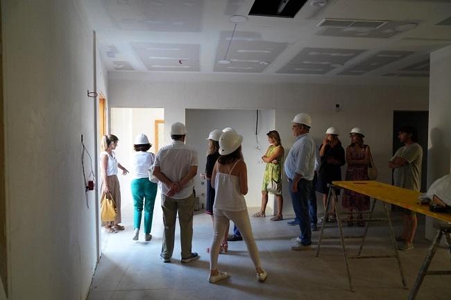Las obras del nuevo centro de día para personas mayores con dependencia, en Muro, estarán terminadas el mes de septiembre