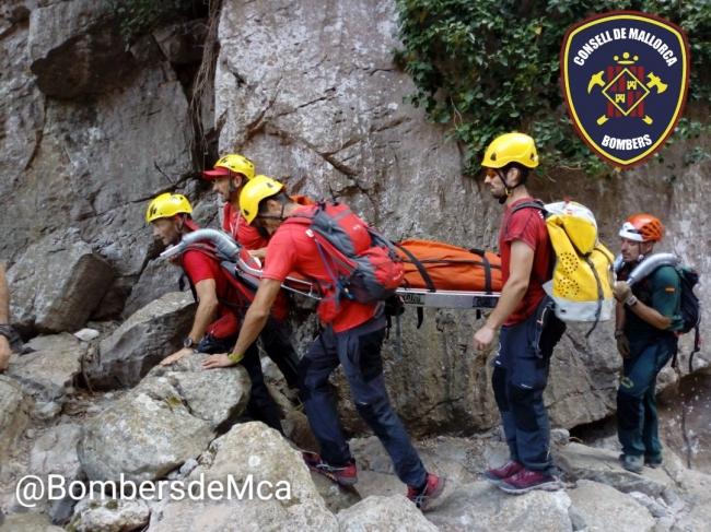 Ayer dos rescates de montaña, uno en Cala Bóquer, Pollença, y otro en el Torrent de Pareis
