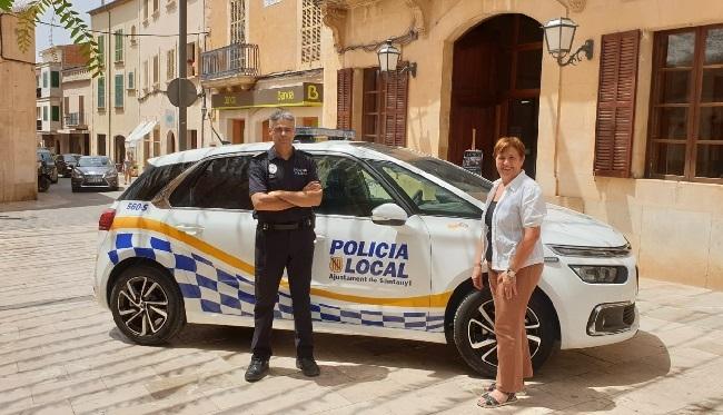 La Policía Local de Santanyí dispone de un nuevo vehículo