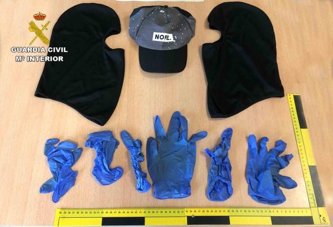 La Guardia Civil detiene a dos personas que acababan de cometer un robo en Porto Colom