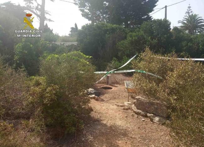 La Guardia Civil incauta una plantación de marihuana y detiene a dos personas en Menorca