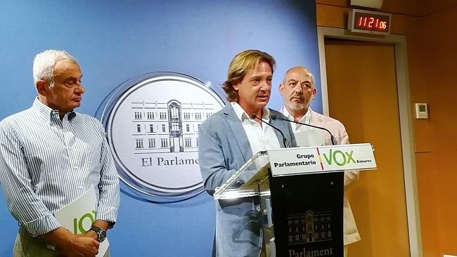 """VOX: """"queremos los datos sobre delincuencia e inmigración ilegal, Baleares va camino de convertirse en Barcelona"""""""
