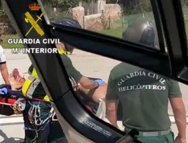 La Guardia Civil continúa con los rescates en la Serra de Tramuntana