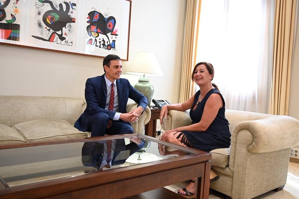 El Pi pide a Armengol que escoja entre el rojo socialista o el azul del mar de Baleares