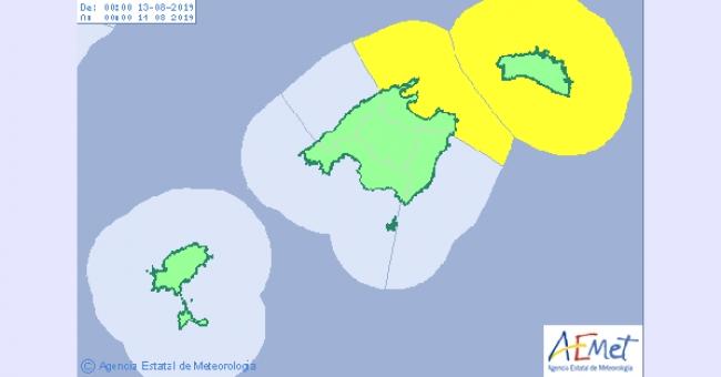 Subirán las temperaturas hoy domingo en el norte de las islas