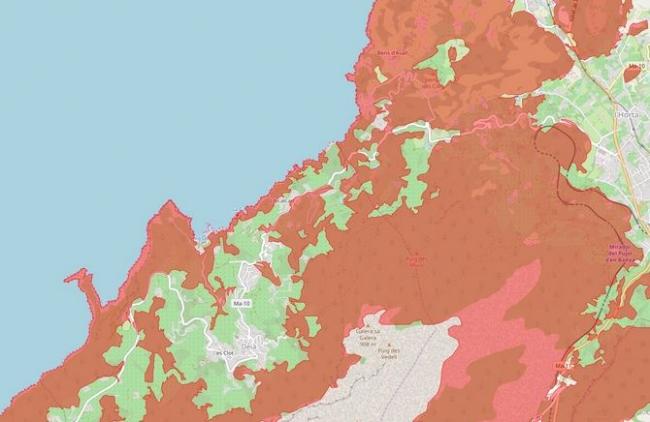 Se intensificará la vigilancia en Llucalcari-Cala Deià para frenar posibles acampadas no autorizadas