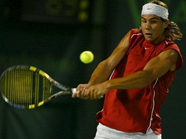 Rafa Nadal cumple 15 años de ensueño en el circuito ATP