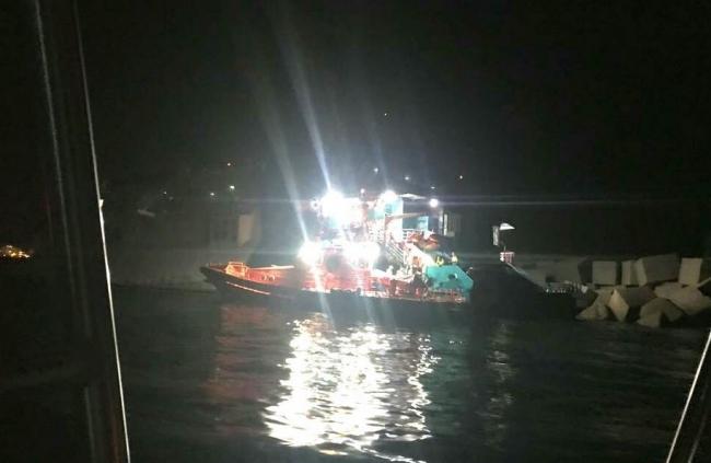Un ferri de Baleària encalla con 393 pasajeros a bordo