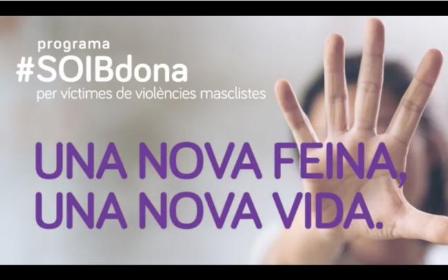 El programa SOIB Dona para víctimas de violencia machista ya ha permitido la contratación de 250 mujeres