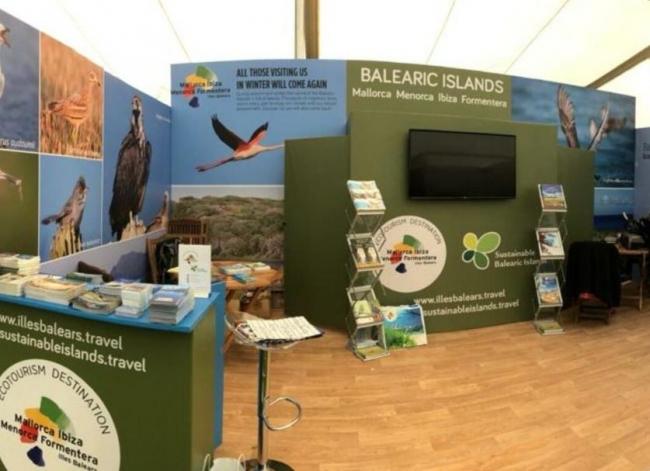 El Consell promociona Mallorca como destino de turismo de naturaleza en la feria Birdfair de UK