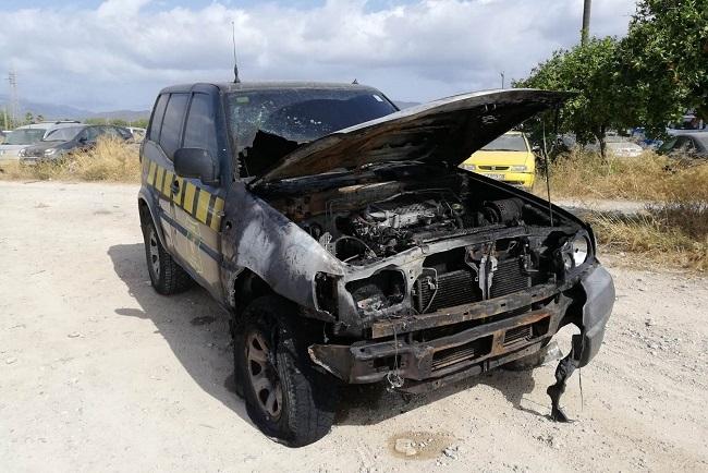 Denunciados dos posibles atentados contra vehículos del cuerpo de Agentes de Medio Ambiente