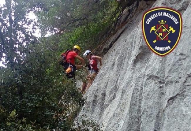 Rescate de una joven excursionista en la zona del Gorg Blau