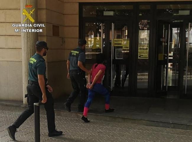La Guardia Civil detiene un grupo  dedicado a cometer hurtos en establecimientos en toda la Isla de Mallorca