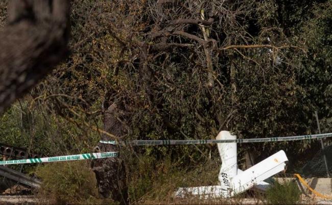 7 muertos en un accidente de un helicóptero y un ultraligero en Mallorca
