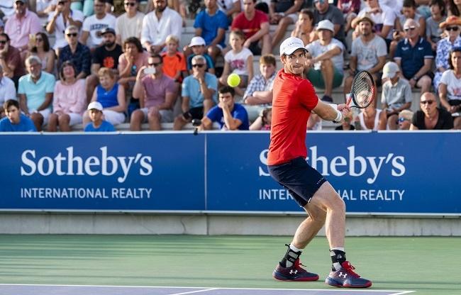 Victoria de Andy Murray en la primera ronda del Rafa Nadal Open