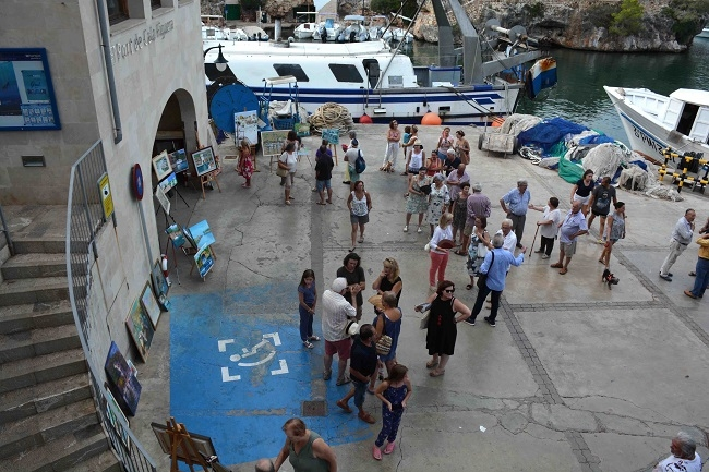 Éxito de participación en el XX Encuentro de Pintores de Santanyí