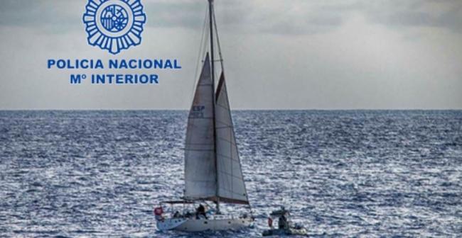 La Policía Nacional y las autoridades británicas interceptan un velero vendido en Mallorca con casi mil kilos de cocaína