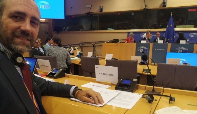 """Bauzá: """"Hemos conseguido que la primera misión oficial del Parlamento Europeo sea en las Islas Baleares"""""""