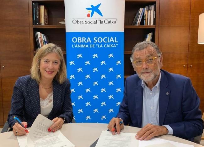 """La AECC Baleares y la Obra Social """"la Caixa"""" renuevan el convenio de colaboración para apoyar la lucha contra el cáncer"""