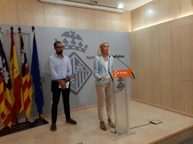 Cs Palma pide la comparecencia de la regidora Adrover ante el aumento de la inseguridad en Palma