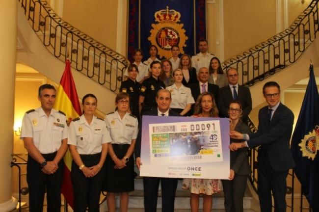 El cupón de la ONCE celebra el 40 aniversario de la incorporación de la mujer a la Policía Nacional