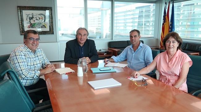 Educación y Ayuntamiento de Santa Margalida se reúnen para tratar la construcción del nuevo CEIP de Can Picafort